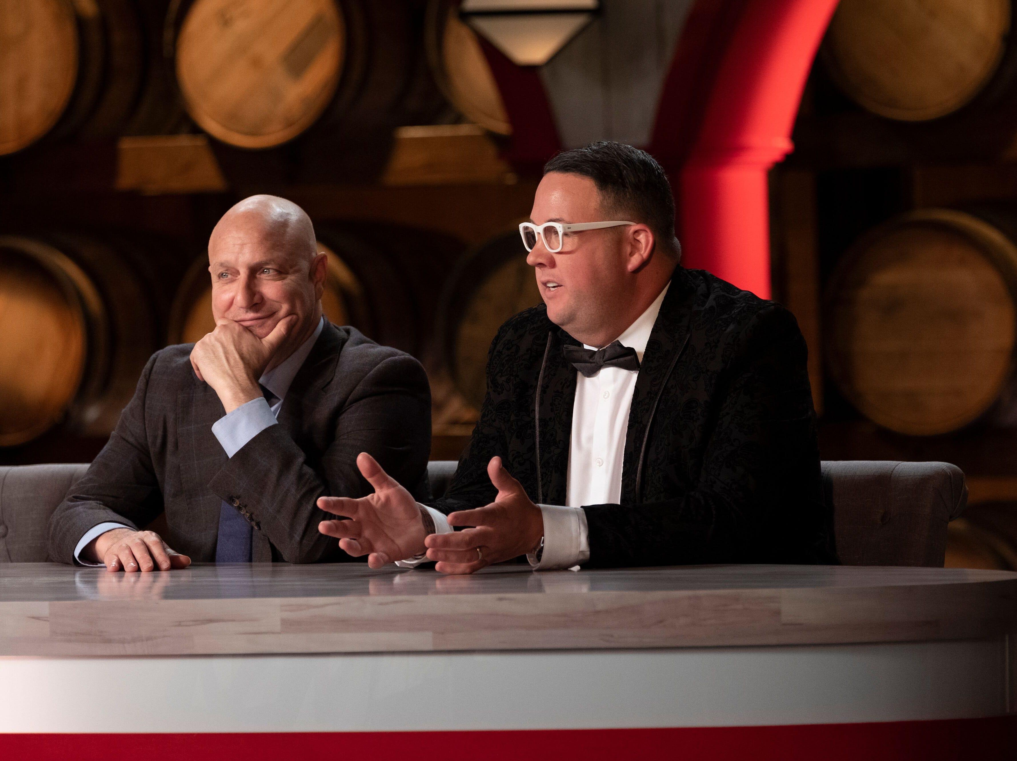 """""""Top Chef"""" judges Tom  Colicchio and Graham Elliot"""