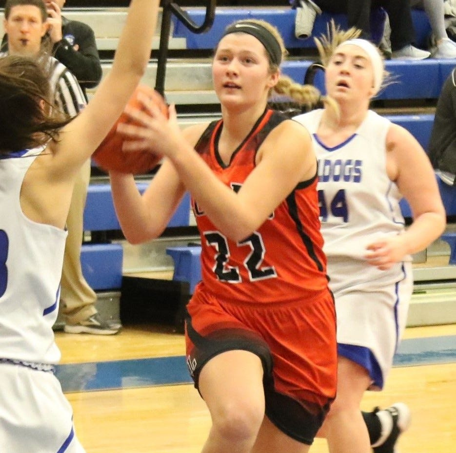Lucas' Jessie Grover named second team All-Ohio in Division IV girls hoops