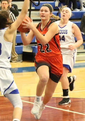 Lucas' Jessie Grover was named second team All-Ohio in Division IV girls basketball.