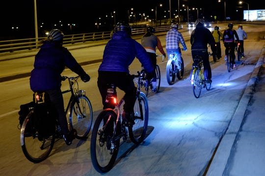 Tosa Full Moon Bicycle Rides have eight rides scheduled for this season.