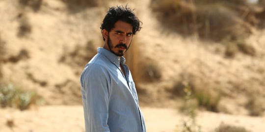 "Dev Patel is ""The Wedding Guest."""