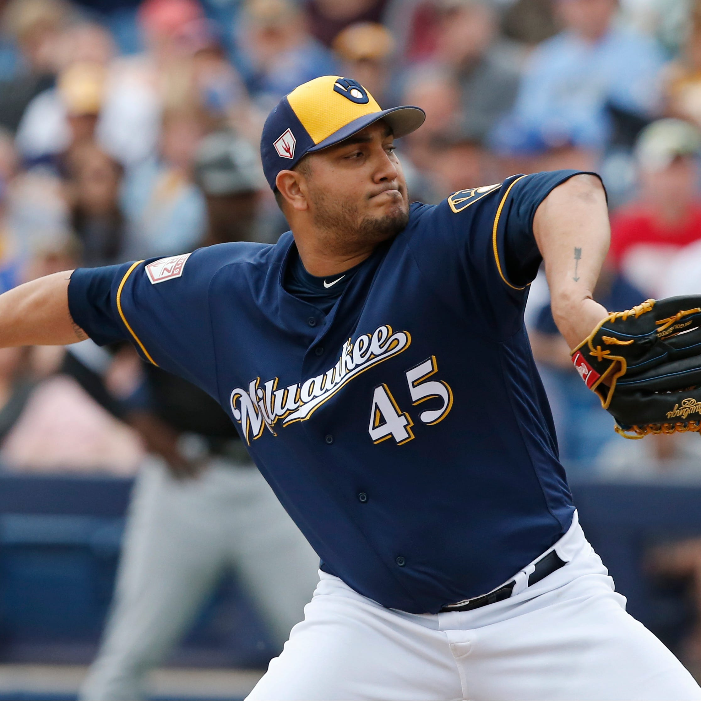 Craig Counsell names Jhoulys Chacín as Brewers' opening-day starter