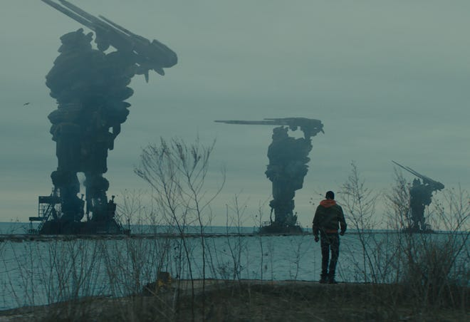 """Ashton Sanders plays a man who decides to take a stand, 10 years after an alien invasion, in """"Captive State."""""""