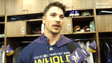 Brewers reliever Taylor Williams talks pitching changes he's making for this year