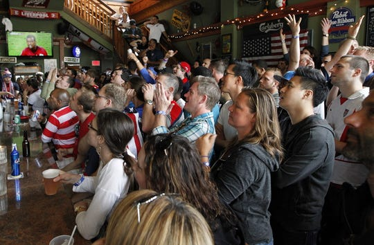 Nomad World Pub, 1401 E. Brady St. is a popular spot for viewing soccer games.