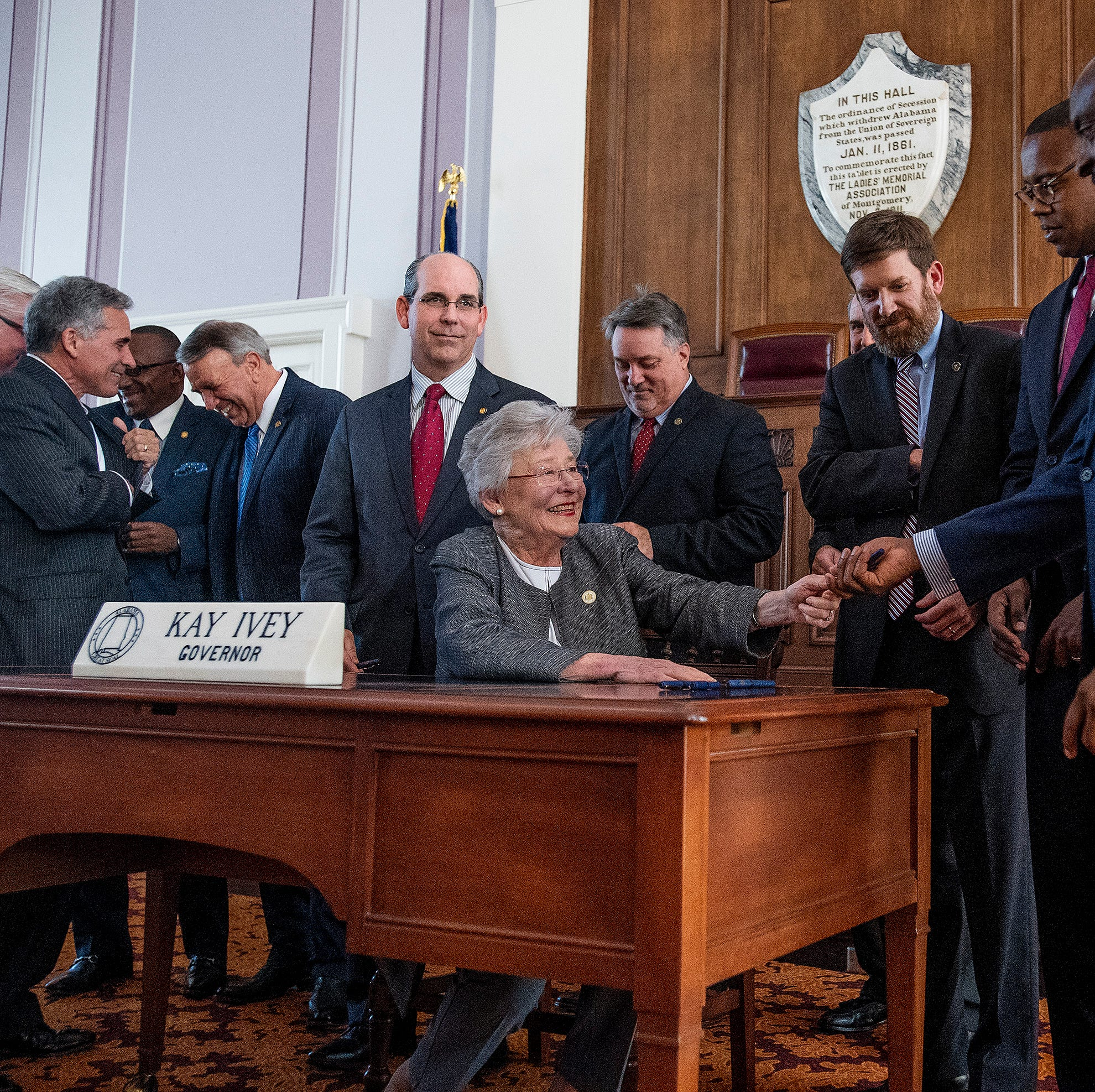 Ivey signs Alabama's first gas-tax increase since 1992