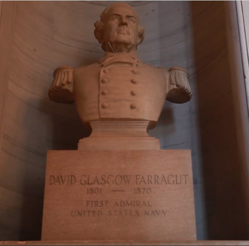 David Farragut's bust faces Nathan Bedford Forrest's, but he is mostly forgotten | Opinion