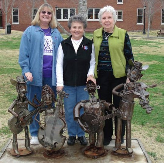 Peggy's Support Group longtime members/founders Vickie Crosby, Diana Morgan and Emma Hall a few years ago.