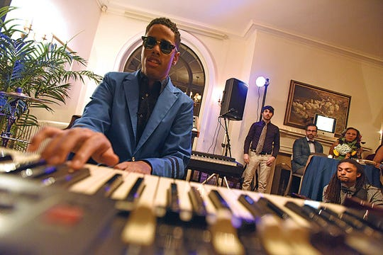 """Matthew Whitaker performs at the Jazz House Kids' annual """"Body & Soul"""" event in Montclair."""
