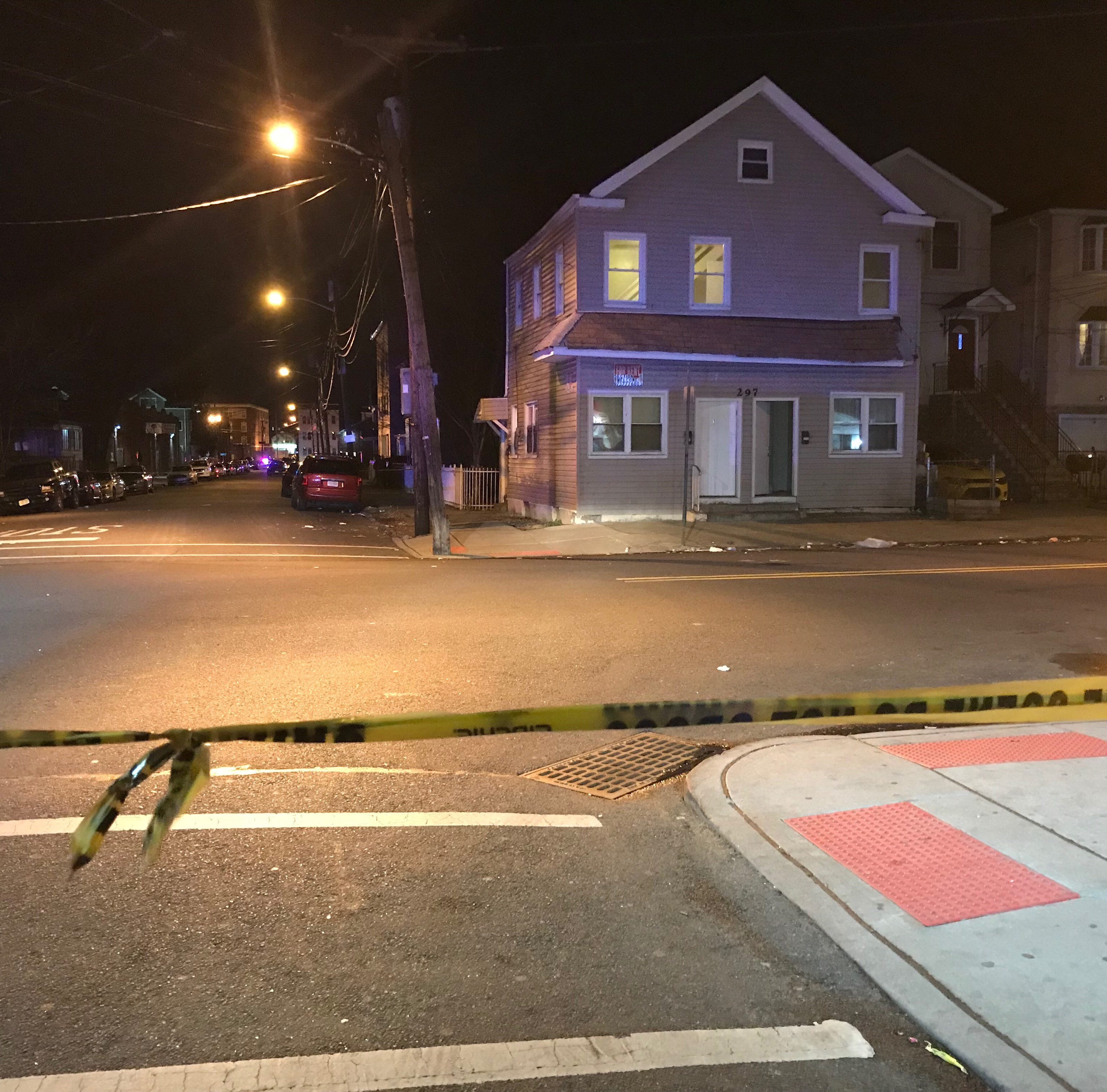 Four men shot on Paterson street