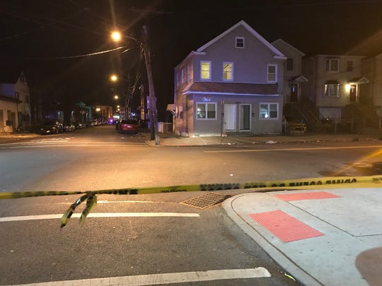 Four people were shot on 12th Avenue in Paterson, NJ on Monday night, March 11, 2019.