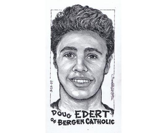 Doug Edert, Bergen Catholic basketball