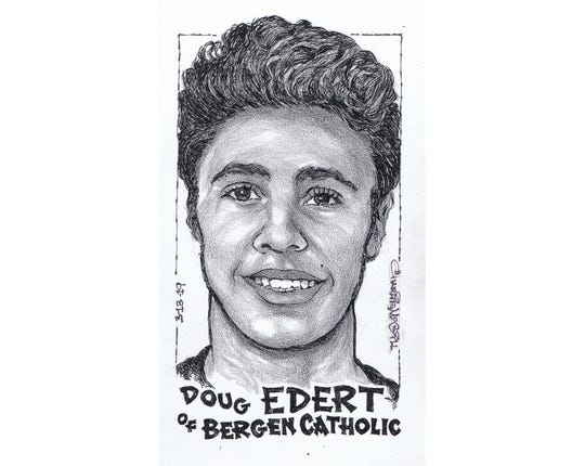 Doug Edert, Bergen Catholic basketball