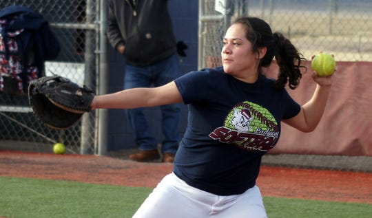 Lady 'Cat junior Jessalyn Olivas will handle the catching duties and is expected to provide leadership.