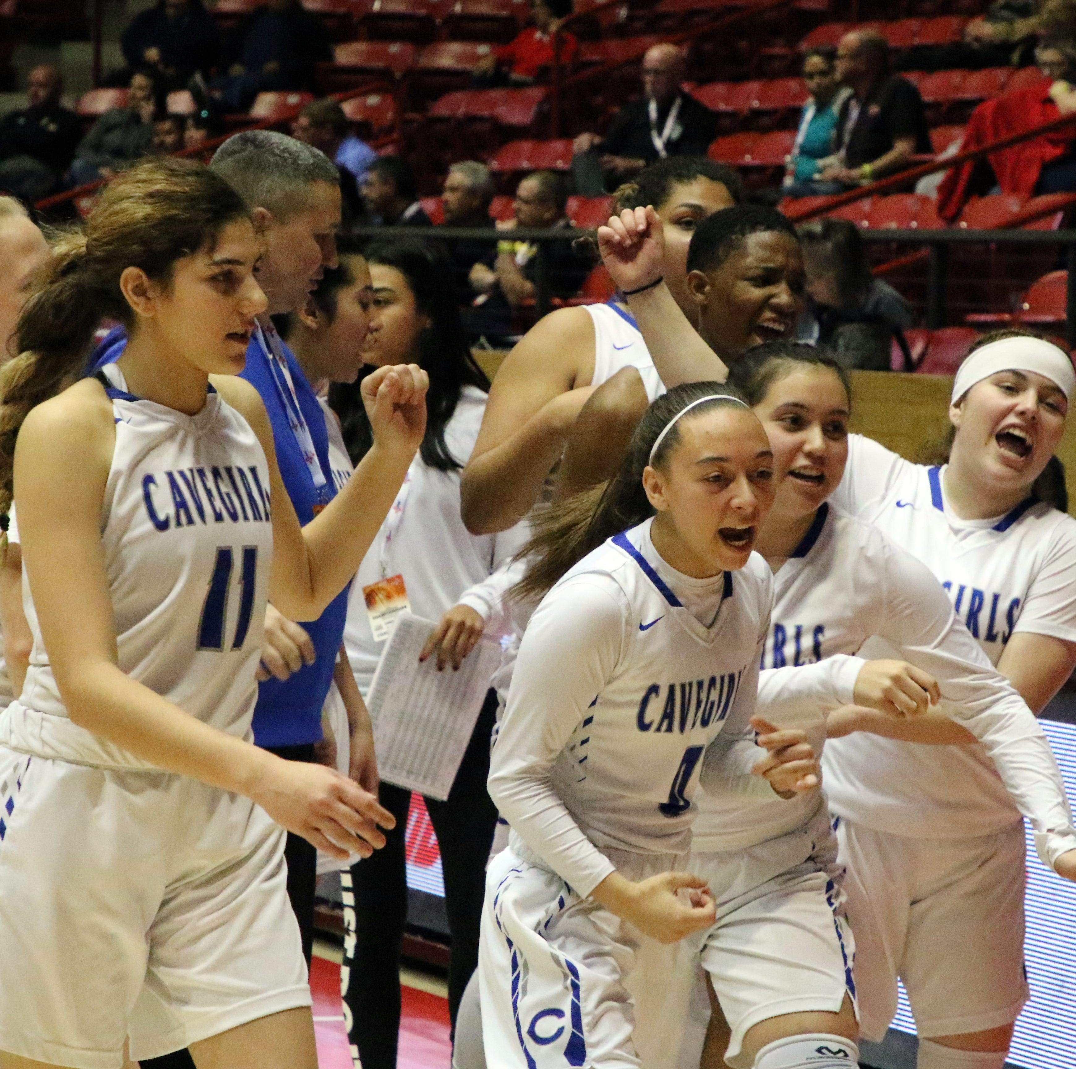 Carlsbad Cavegirls advance after OT win at NMAA State Tournament