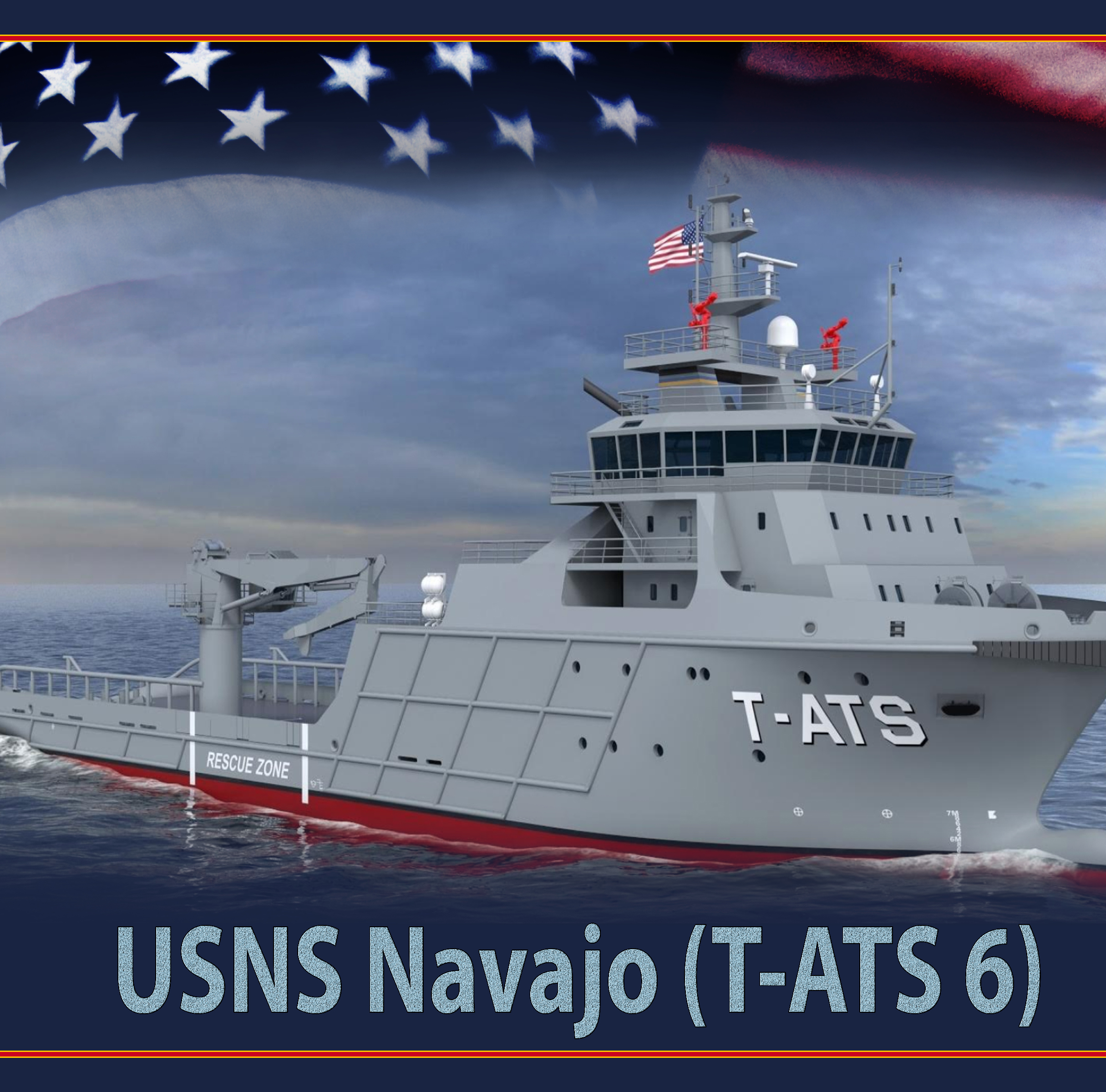 Navy names new ship class after Navajo tribe