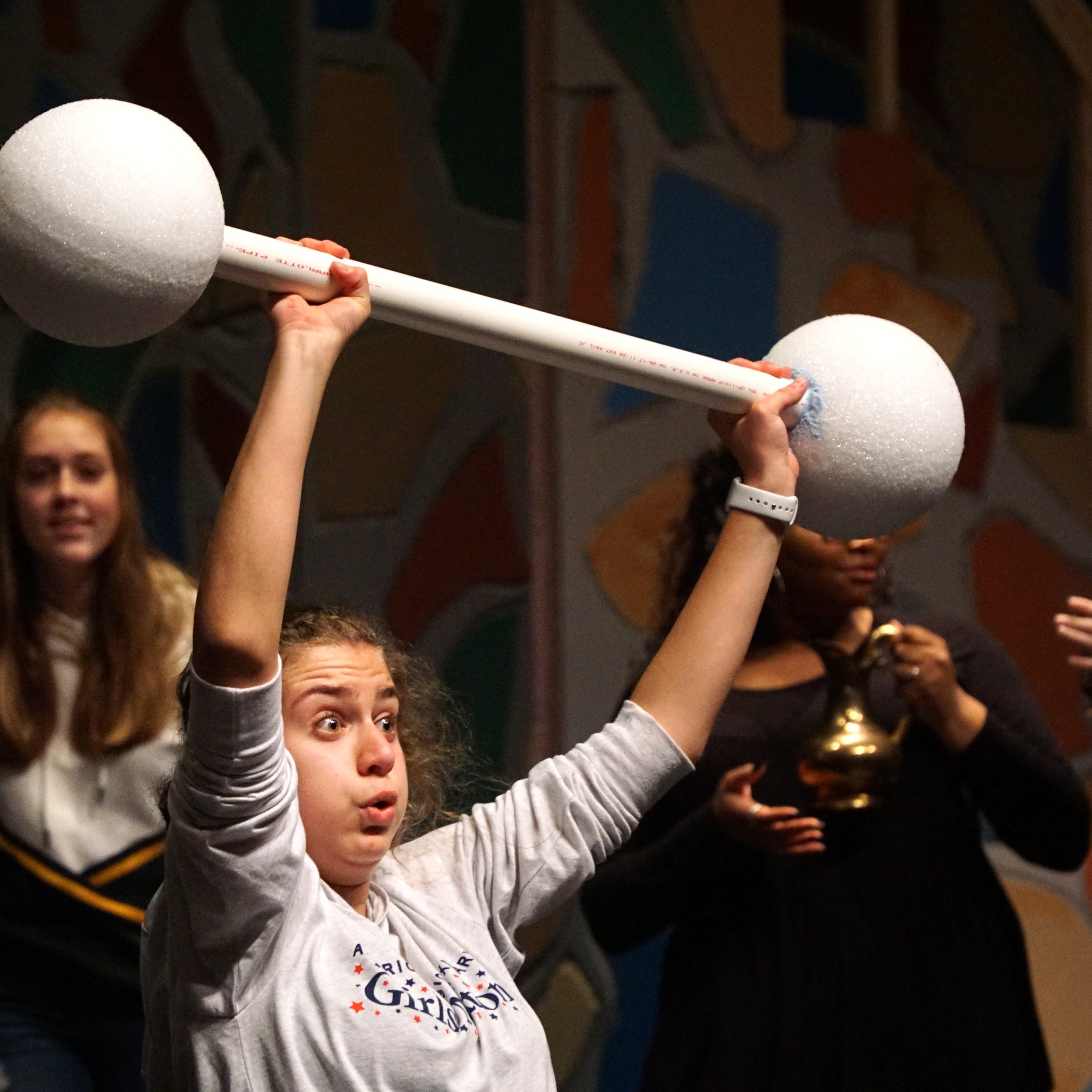 Harrison students prepare school's final performance, 'Once Upon a Mattress'