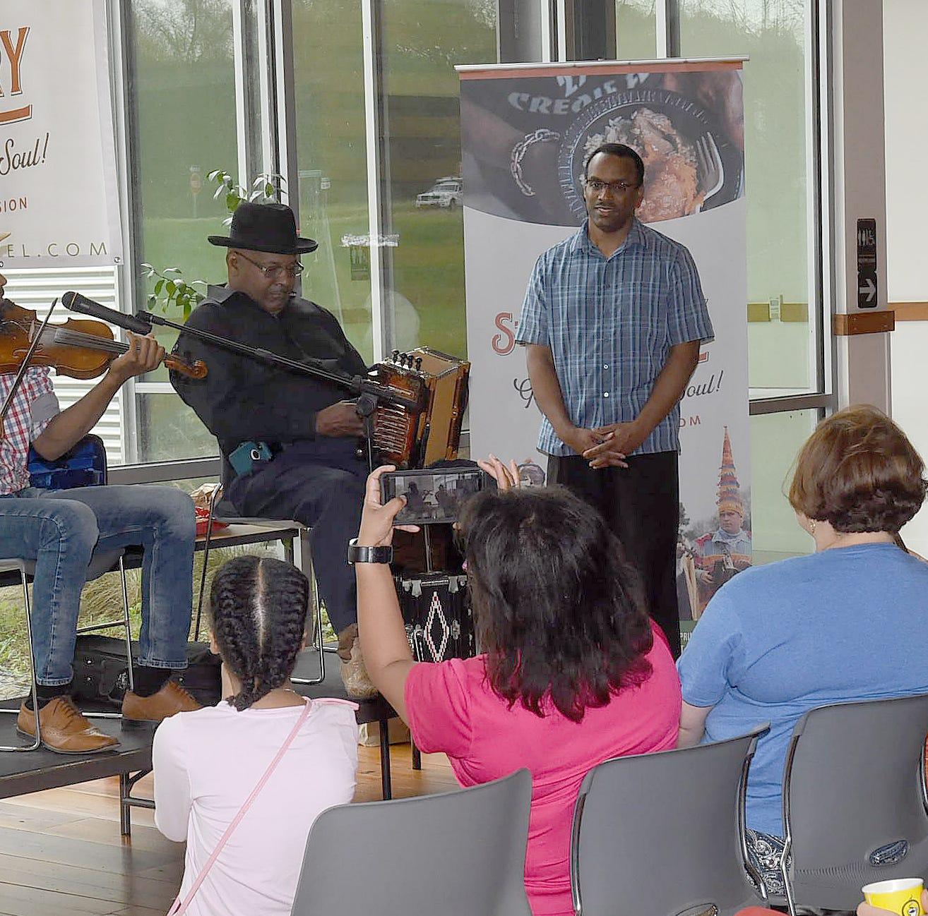 Amede Ardoin descendants pay tribute to Louisiana icon