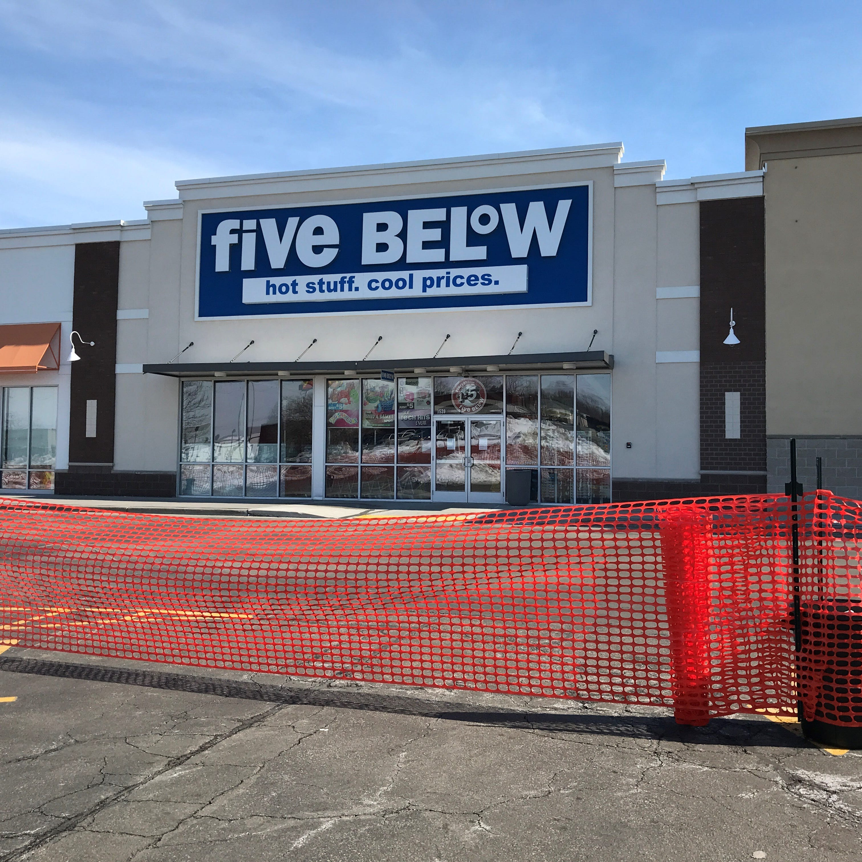Retailer Five Below's roof collapsed, closing it and several other neighboring businesses