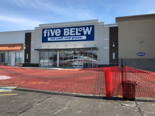 Five Below's roof collapsed Monday evening and is closed until further notice along with several other businesses.