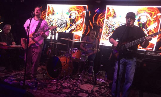Ghost Notes featuring (from left), Bobby Furgo, Damian Lautiero, Rob Peterson and Mike Hammons, performs Saturday at Big Rock Pub.