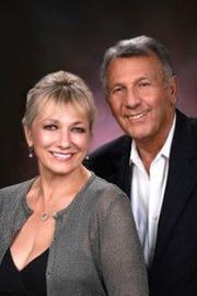 "Barbara Ward and Matt Borzello in ""Side By Side"""