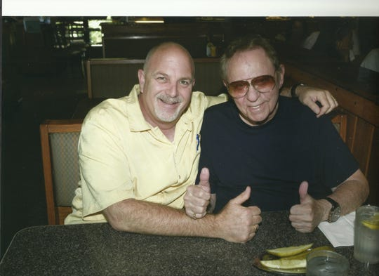 Gordon Poster with Rock and Roll Hall of Fame drummer Hal Blaine.