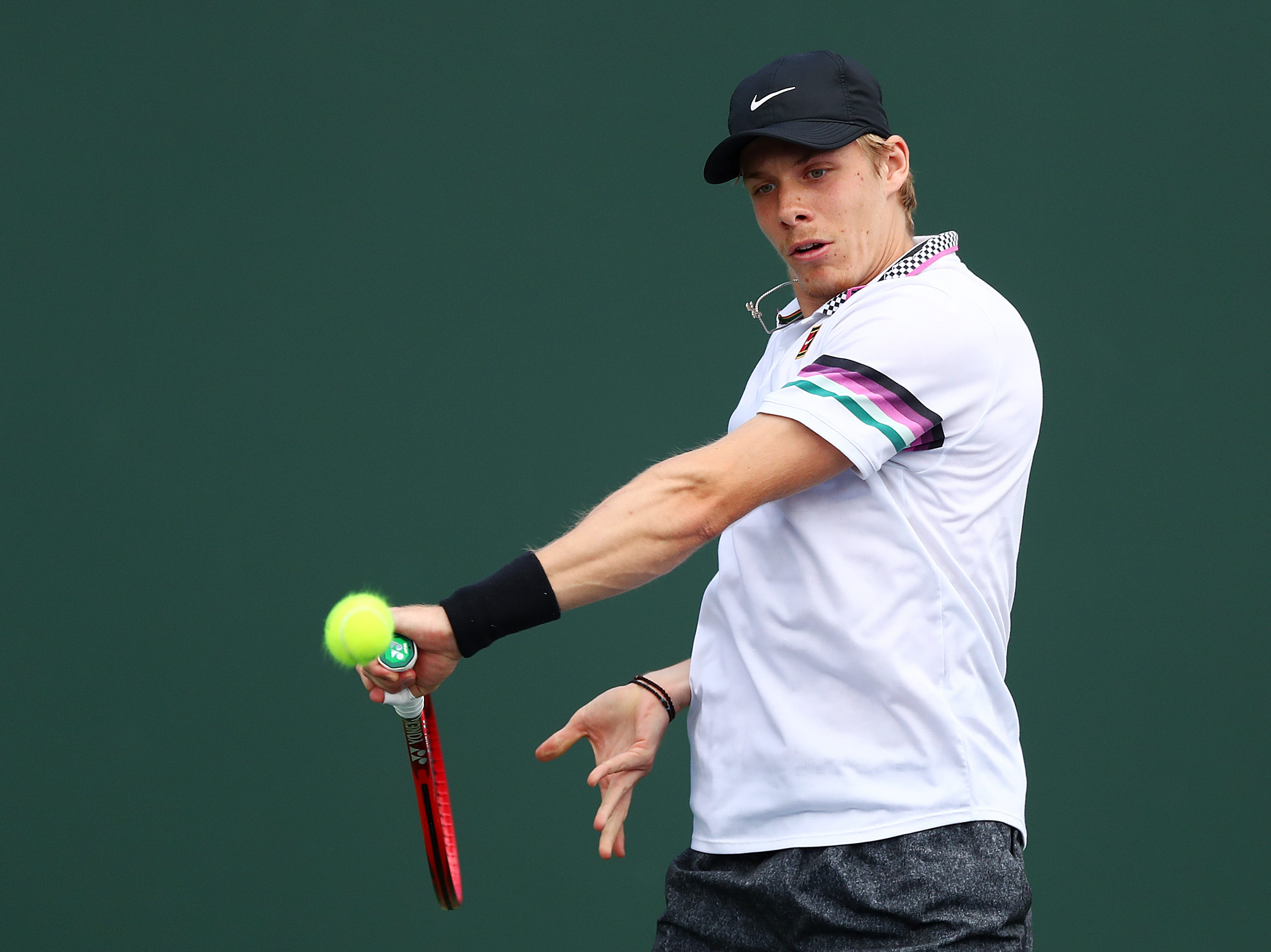 Canadian teen Denis Shapovalov busts into prepared rap after win at BNP Paribas Open