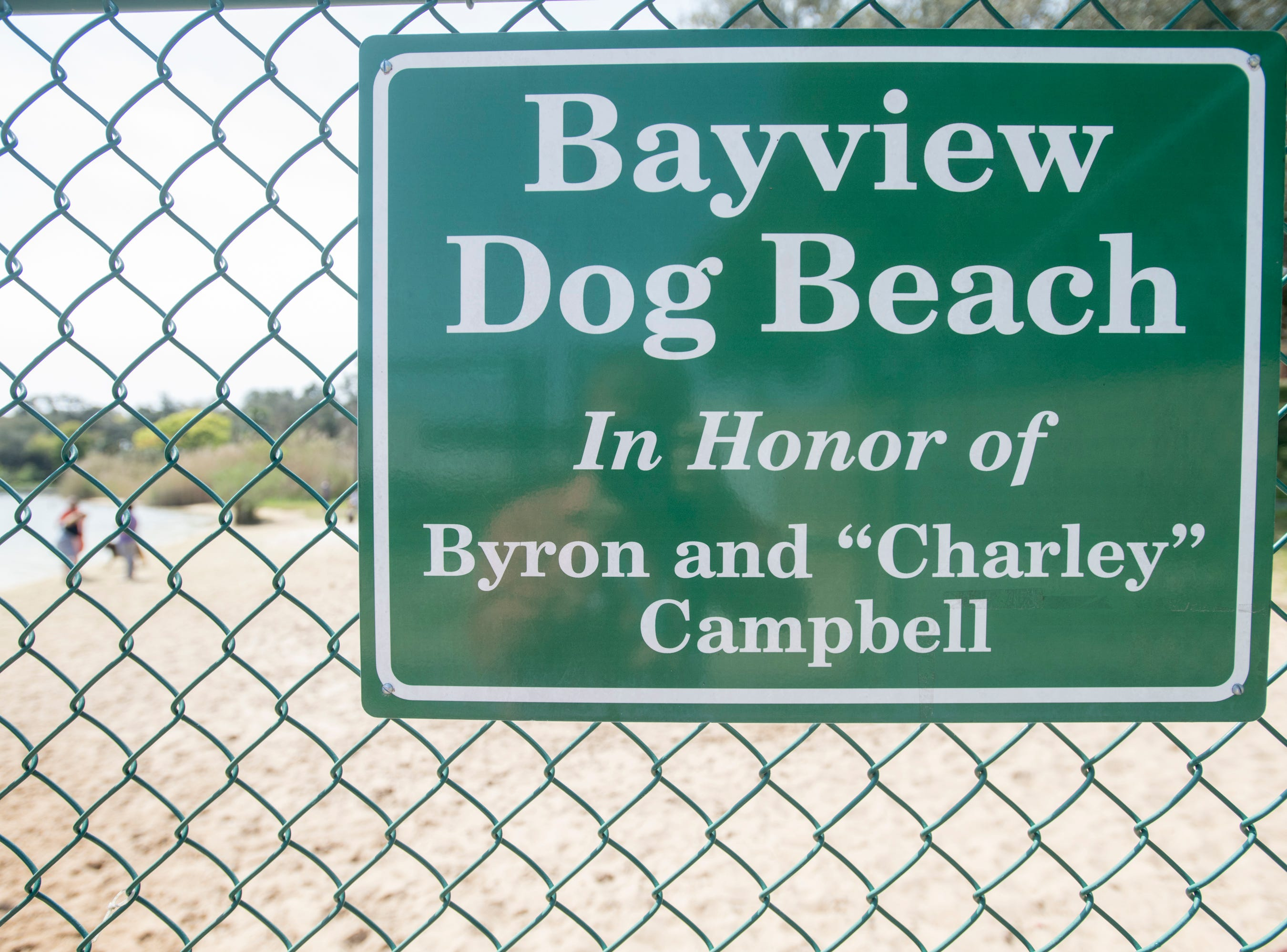 Bayview Park's dog park in Pensacola on Tuesday, March 12, 2019.  Navarre residents hope to get a similar dog park for their city.