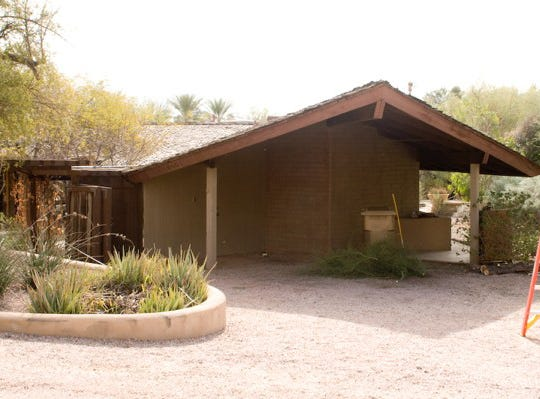 Sandra Day O'Connor's former home, which was built in 1958, was relocated brick by brick to Papago Park because it was going to be demolished.