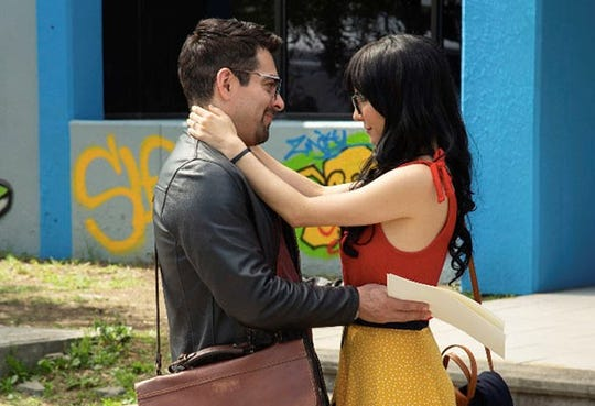 "In ""No Manches Frida 2,"" Zequi (Omar Chaparro) and Lucy (Martha Higareda) are preparing for their wedding."