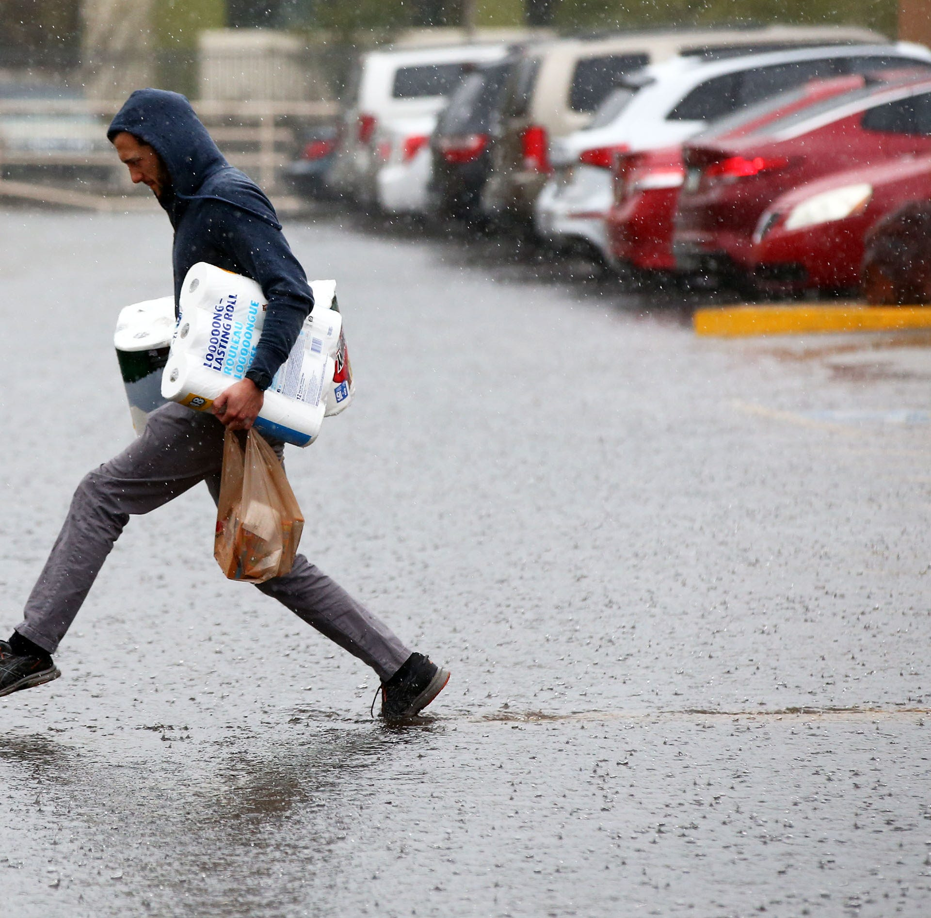 Nearly a quarter-inch of rain recorded at Phoenix Sky Harbor Airport
