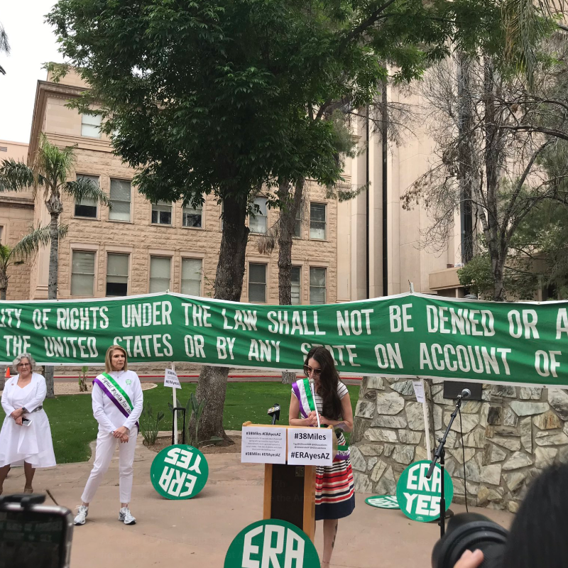 Tipping point on ERA? Arizona supporters to march 38 miles to push for ratification