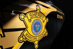 Maricopa County Sheriff's Office marked vehicle