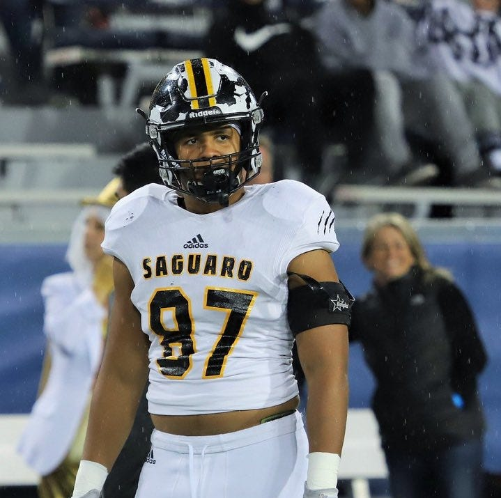 No. 1 prospect Quintin Somerville of Saguaro, ranked No. 5 nationally,