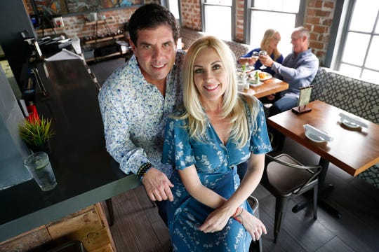 Marty Kupper (left) and Dana Lam has partnered with Rice Paper Vietnamese Restaurant to provide unique dates for couples. Fun Fantasy Ritual helps couples get out of the dating/relationship rut.