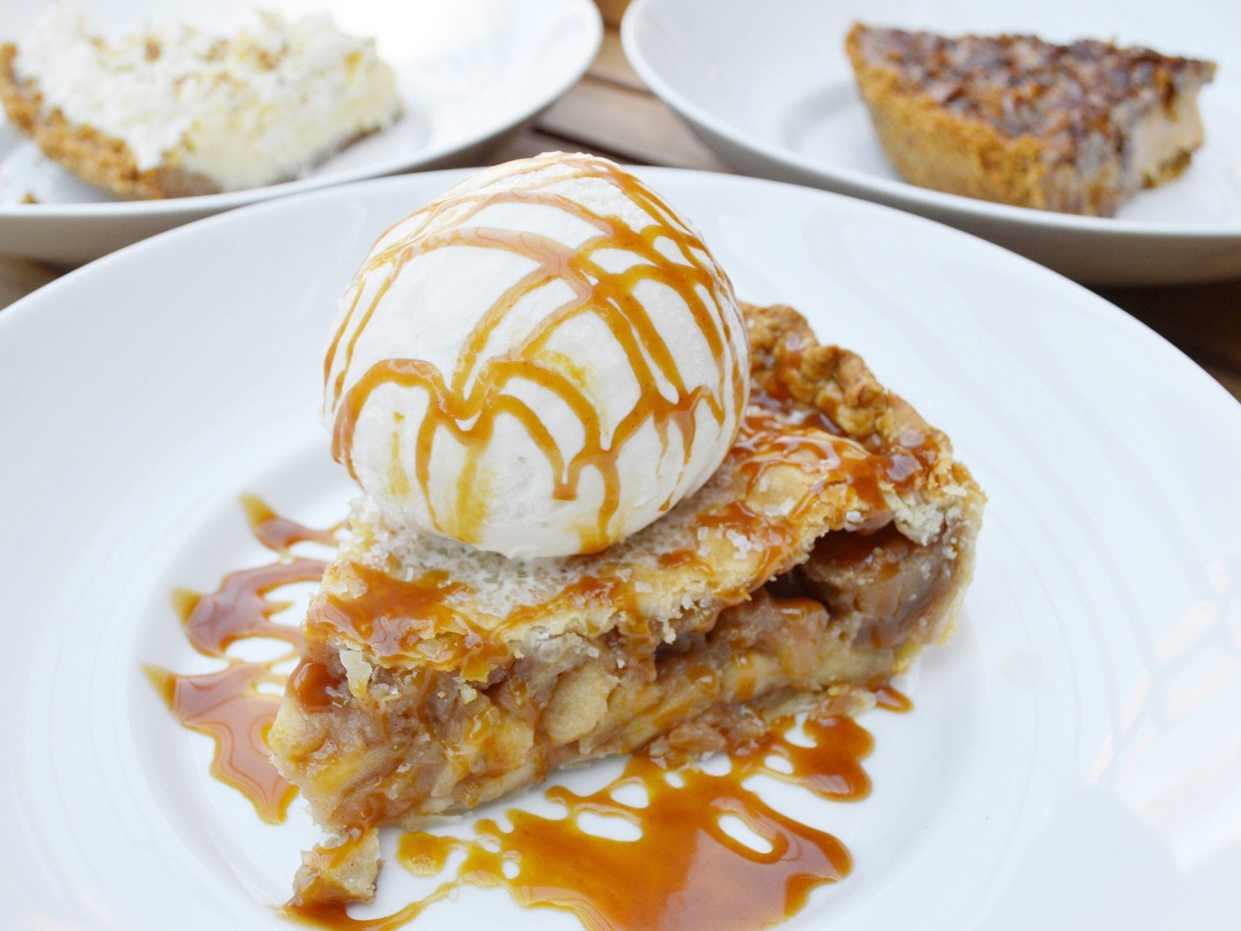 SWEET PROVISIONS  On Pie Day, March 14, enjoy $3.14 slices all day long. Choose from a lineup of coconut cream, butterscotch pecan, pumpkin, and key lime.   DETAILS: 8120 N. Hayden Road, Scottsdale. 480-275-2676, sweetprovisionsaz.com.