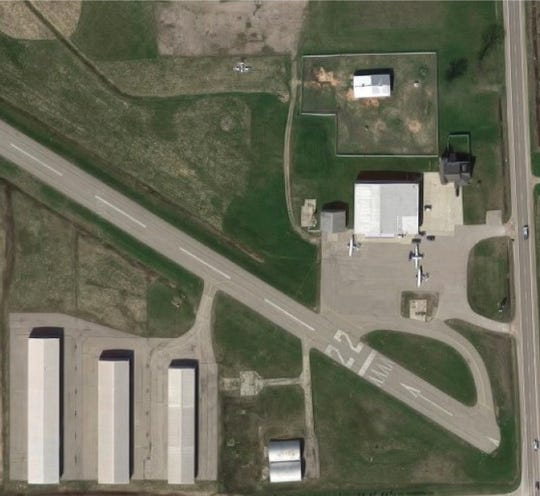 The Marine City Airport is listed for sale at a purchase price of $2.2 million through Kramer Commercial Realty. Its owner Willis Manter died in March 2017.