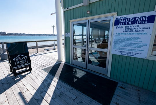 Kate Voss, owner of Kate's Downtown, has opened a second location at the Maritime Center in Port Huron, called the Boat House by Kate's. The menu at the new location includes pastries, coffee and different nautical-themed entrees and drinks.