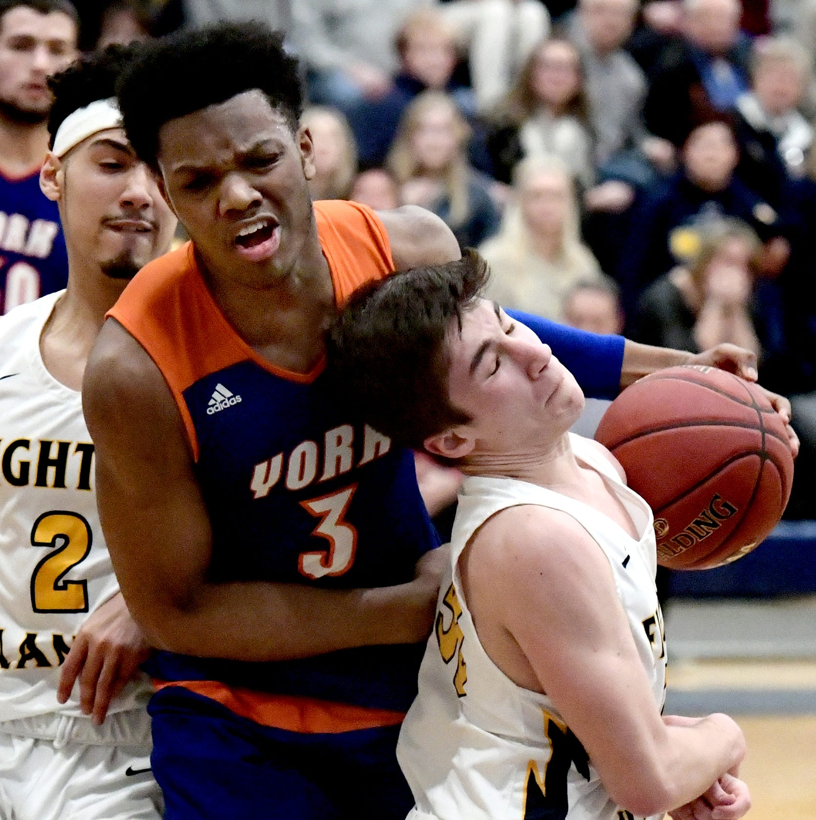 York High boys' basketball team sees season end with one-point PIAA loss to Mars