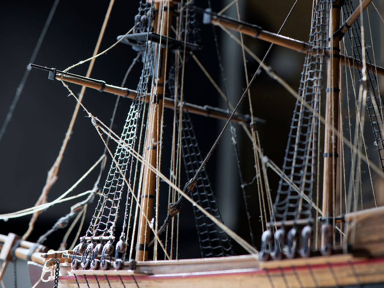 The tall ship models pictured were made by Roland Whitmire in the 1970s at his home on West Philadelphia Street in York. Dennis Kunkle, who has owned the home for 15 years, recently bought them back at auction and plans on cleaning and displaying them again in the home.
