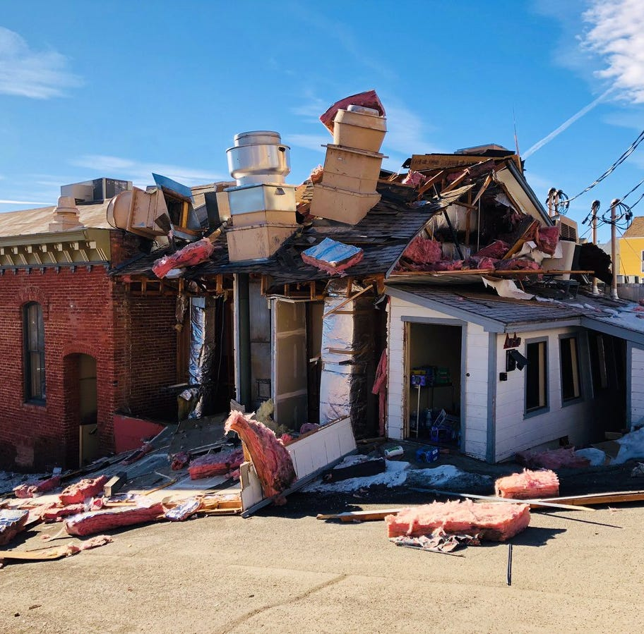 Sheriff: Gas explosion at Virginia City's Delta Saloon, photos show 'pretty extensive' damage