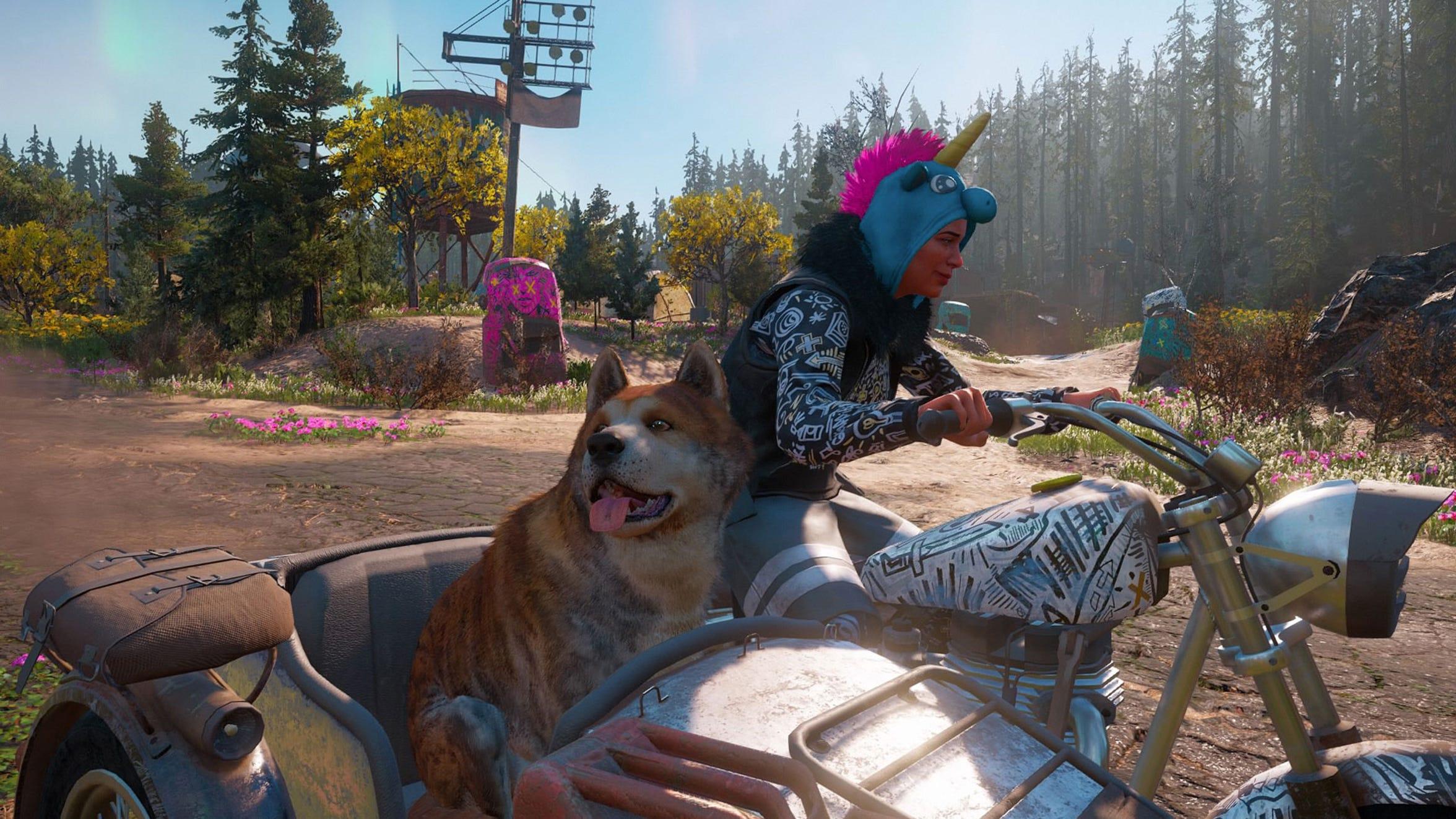 Who's a good boy in Far Cry New Dawn?