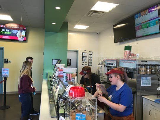 Rita's in Brighton offers free Italian ice on the first day of spring.