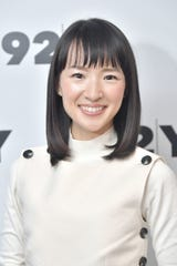 "Marie Kondo hosts Netflix's ""Tidying Up With Marie Kondo."""