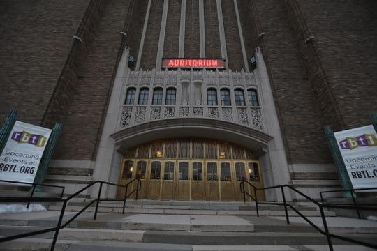 Auditorium Theatre in Rochester on March 12, 2019.