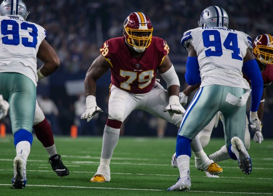 The Bills are reportedly signing 33-year-old offensive tackle Ty Nsekhe, formerly of the Redskins.