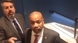Assembly Speaker Carl Heastie, D-Bronx, speaks to reporters in Albany on Tuesday, March 12, 2019.