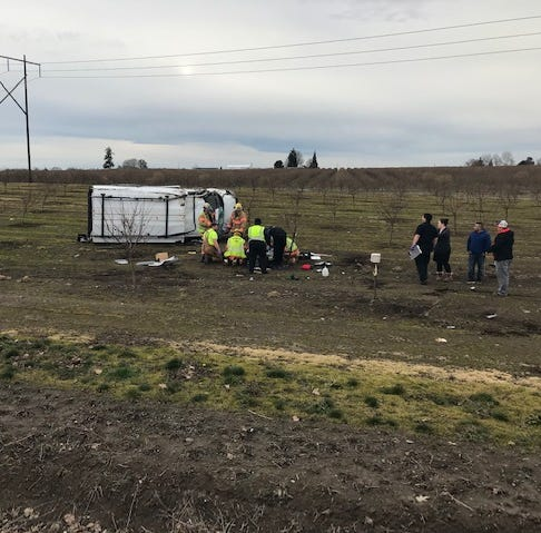 Helicopter called in after crash closes Howell Prairie Road north of Silverton Road