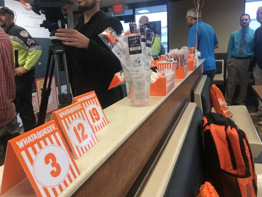 Whataburger invites the San Angelo Police Department to a VIP lunch Tuesday, March 12, 2019.
